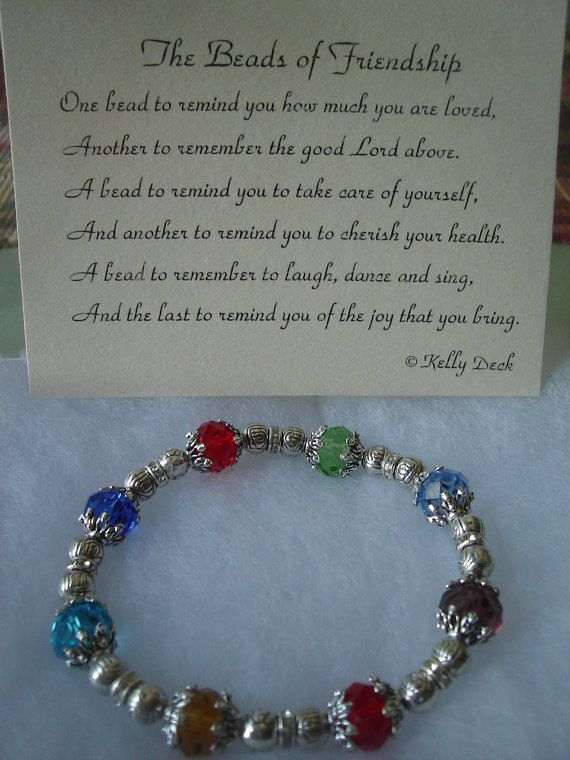 The Beads of Friendship friends and family jewelry with