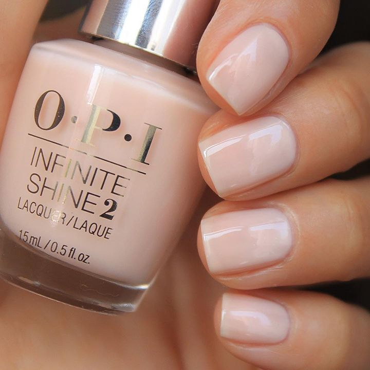 The 35 Prettiest Wedding Nail Colors - love this gorgeous sheer beige nail color