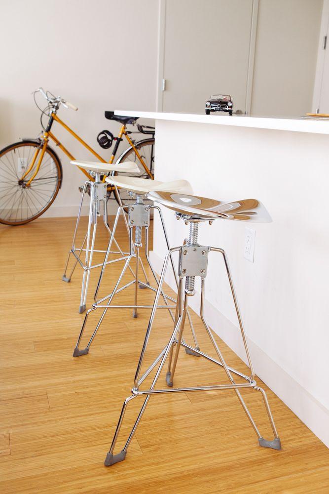 Clipper bar stools