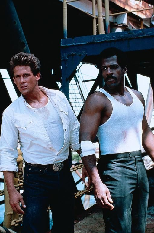 Michael Dudikoff & Steve James, Avenging Force (1986)