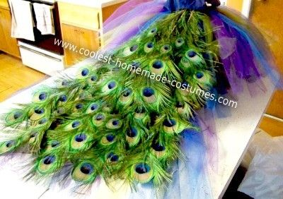 Peacock Costume by TinyCarmen