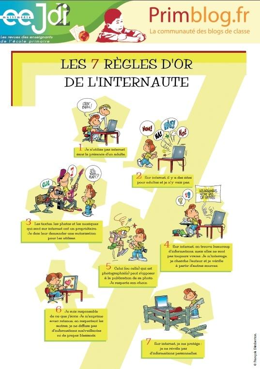7 règles d'or de l'Internet.