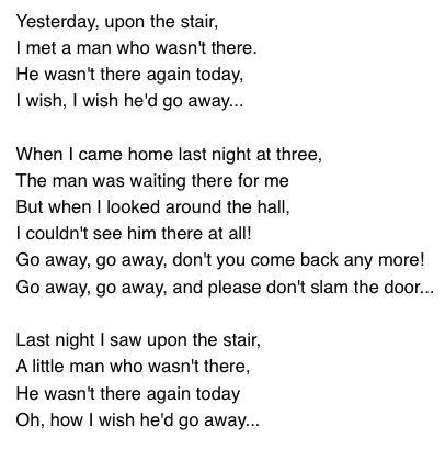 Antigonish   Poem                          William Hughes Mearns