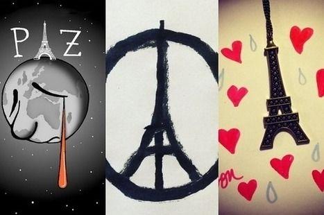 23 dessins qui rendent hommage aux victimes des attentats de Paris | Ressources visuelles de FLE | Scoop.it