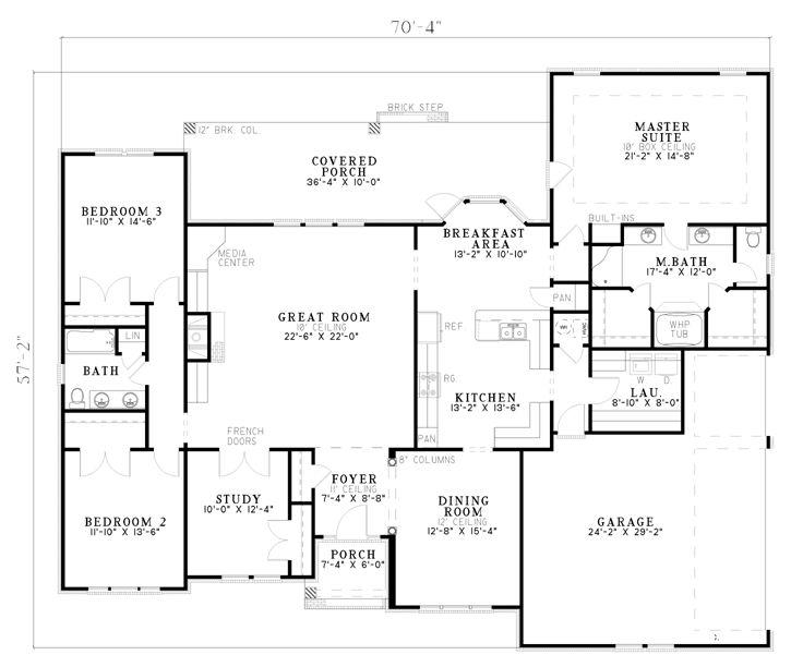 105 best images about floor plans on pinterest