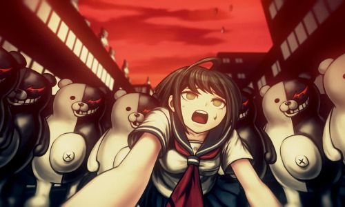 Danganronpa game, another Episode Coming to PC via Steam in 2017. For more info, check http://twinfinite.net/2016/11/danganronpa-another-episode-coming-to-pc-via-steam/?utm_source=dlvr.it&utm_medium=tumblr #gaming #game #PS4 #PC #teddybear #girl #horror #art