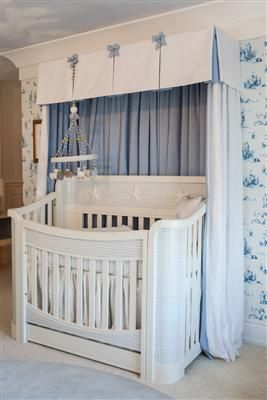Buy Your Orlando Crib In Antico White And Blue Gingham With Appliqued  Moulding By Art For Kids Here. AFKu0027s Mission Is To Create The Worldu0027s  Finest ...