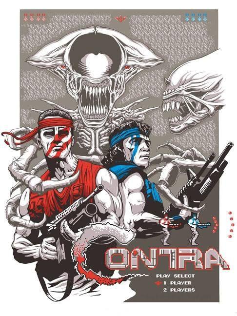 Cajón de los Recuerdos: CONTRA, videojuego de guerra