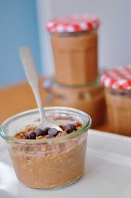 The Art of Comfort Baking: Chocolate Peanut Butter Overnight Oats