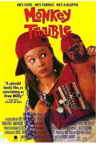 Monkey Trouble | 18 Kids Movies From The '90s You've Probably Forgotten About