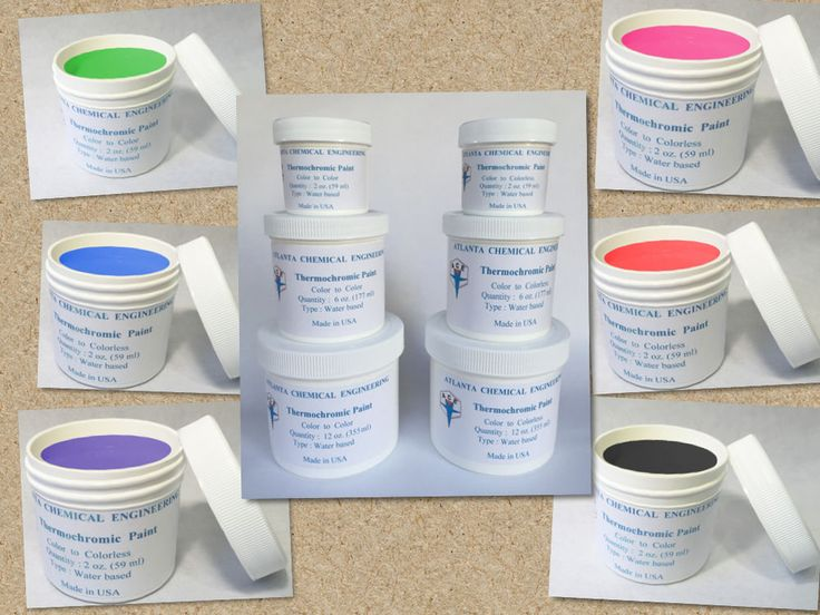 Heat Activated Paint For Color Changing Interior Designs