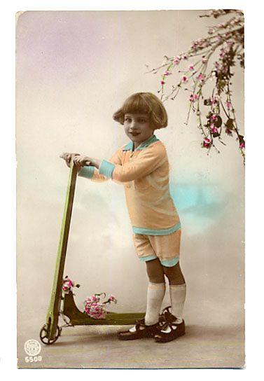 All sizes | LittleGirlRoseScooter6806 | Flickr - Photo Sharing!