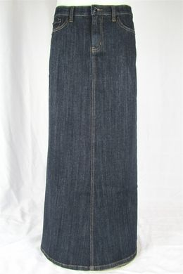 long jean skirt// this website has cute Jean skirts