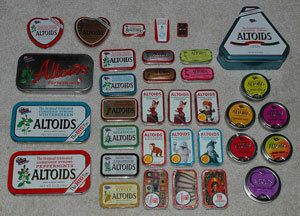 This is a guide about uses for Altoid candy or mint tins. Altoid tins beg to be reused for crafts or storage.