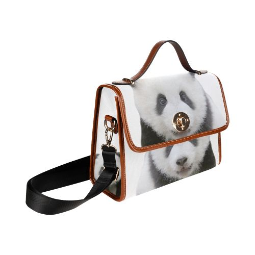 Panda Bear Waterproof Canvas Bag/All Over Print. FREE Shipping. #artsadd #bags #pandas