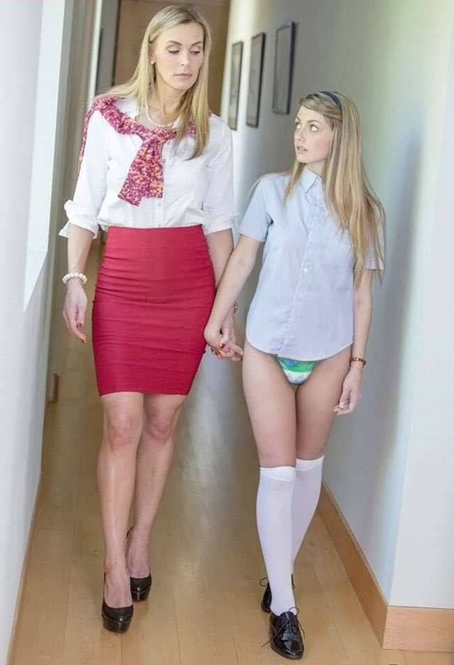 Orientation Day At My New School Was Pretty Weird After Mom And Dad Dropped Me Off The Head Mistress Had Me Change Out Of My Street Clothes