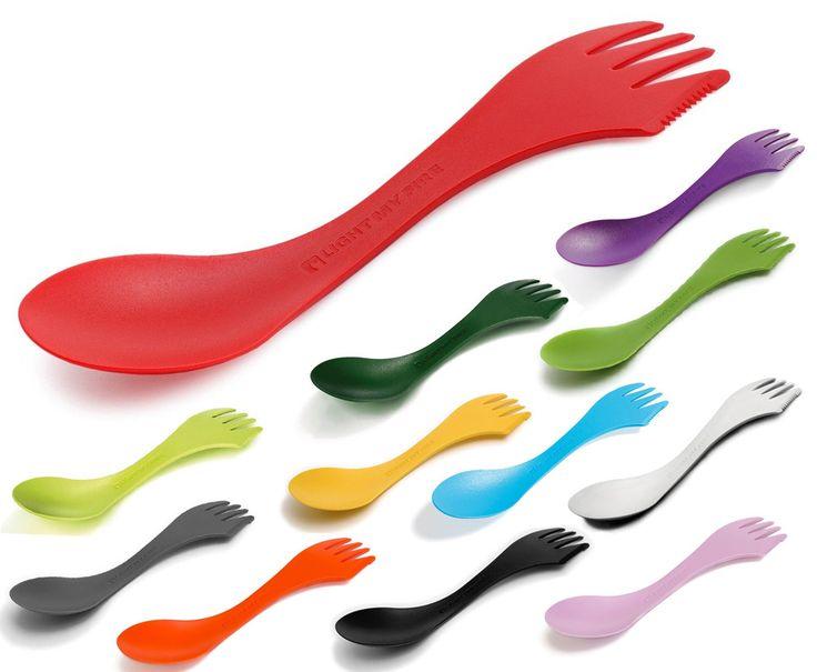 Spork – Praktiskt bestick med sked, kniv och gaffel i ett!