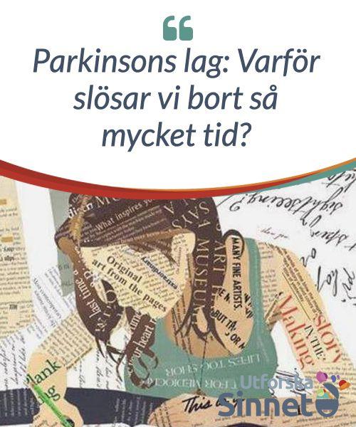 """Parkinsons lag: Varför slösar vi #bort så mycket tid?  Cyril Northcote Parkinson var en historiker som under #många år arbetade inom den #brittiska statsförvaltningen. Den #erfarenhet som han ackumulerade ledde till att han #publicerade en bok 1957 med titeln """"Parkinson's Law and Other Studies in Administration""""."""