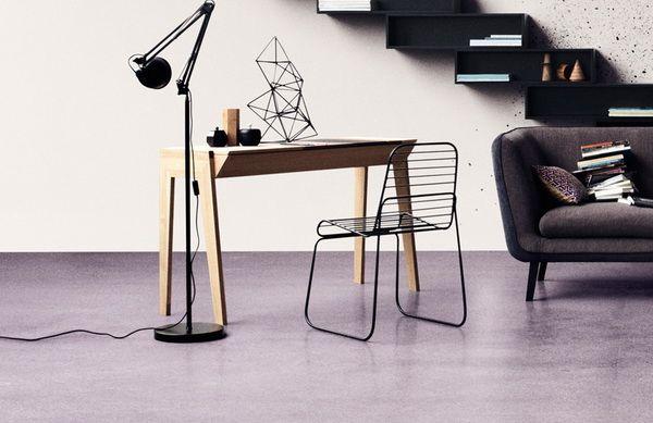 Оригинальный стул из проволоки от компании «James Burgess Design». (4 фото)
