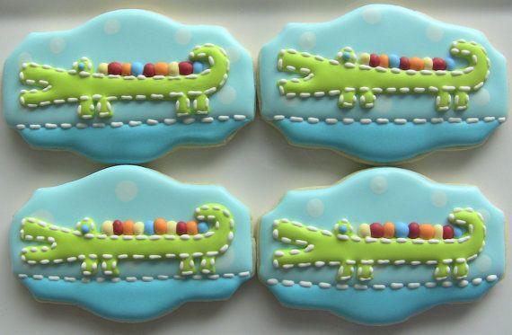 81 Best Animal Alligator Cookies Images On Pinterest