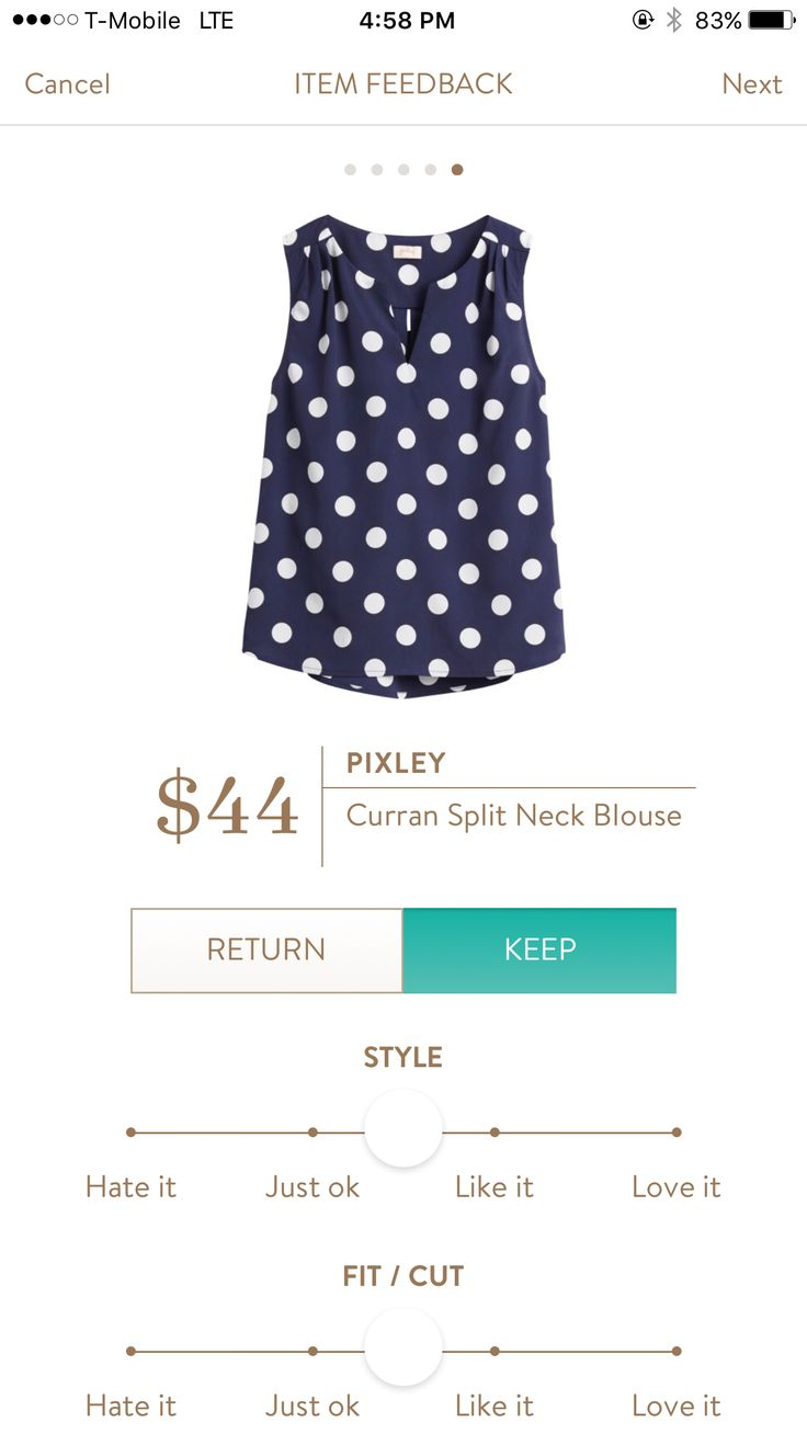I love Stitch Fix! Personalized styling service and it's amazing!! Fill out a style profile with sizing and preferences. Then your very own stylist selects 5 pieces to send to you to try out at home. Keep what you love and return what you don't. Try it out using the link! https://www.stitchfix.com/referral/5634870