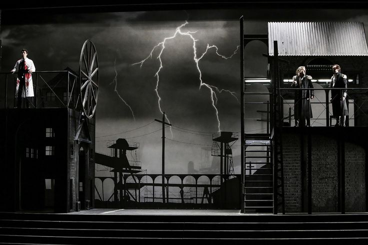 La Forza del destino from Cologne Opera. Production by Olivier Py. Sets and costumes by Pierre-André Weitz.
