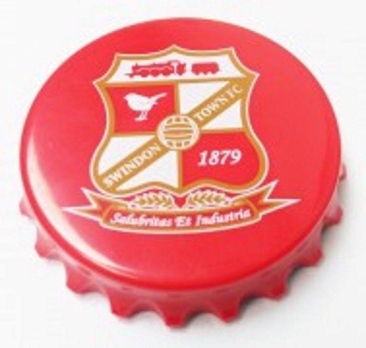 Swindon Town FC Bottle Top Opener Magnet Brand New Sealed