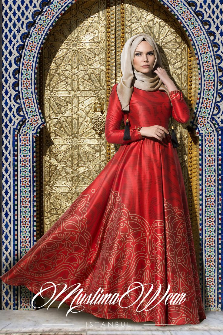 Silk Way Collection-  Red Rose Dress