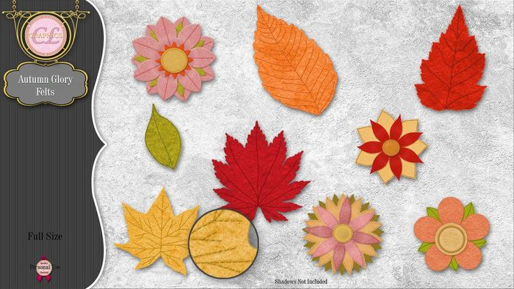 CLGraphics Autumn Glory Felts