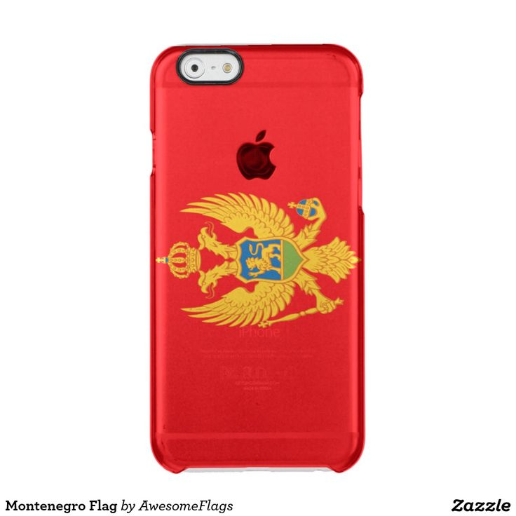 Montenegro Flag iPhone 6 Plus Case