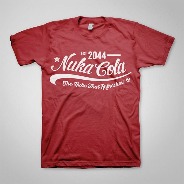 Fallout T-Shirts by Ello Mate! , via Behance waiting for creator permission but PERFECT for birthday boy