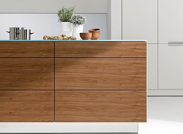 Exotic Wood Veneers Kitchen Interior Design Ideas American Walnut
