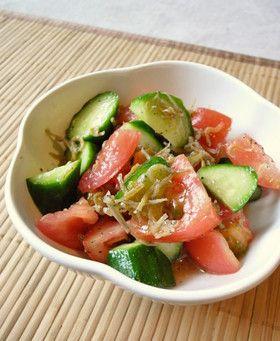 トマトときゅうりのジャコサラダ by moj [クックパッド] 簡単おいしい ...