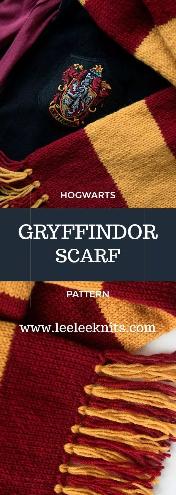 Free Pattern For Harry Potter Knitted Scarf