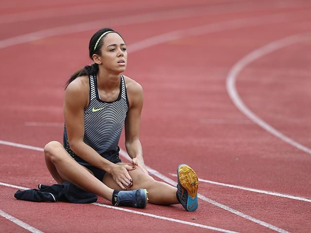 Katarina johnson thompson - legs day workout - bum exercises - womens health uk