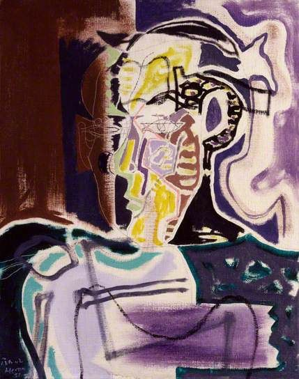 Patrick Heron by Patrick Heron National Portrait Gallery, London      Date painted: 1951