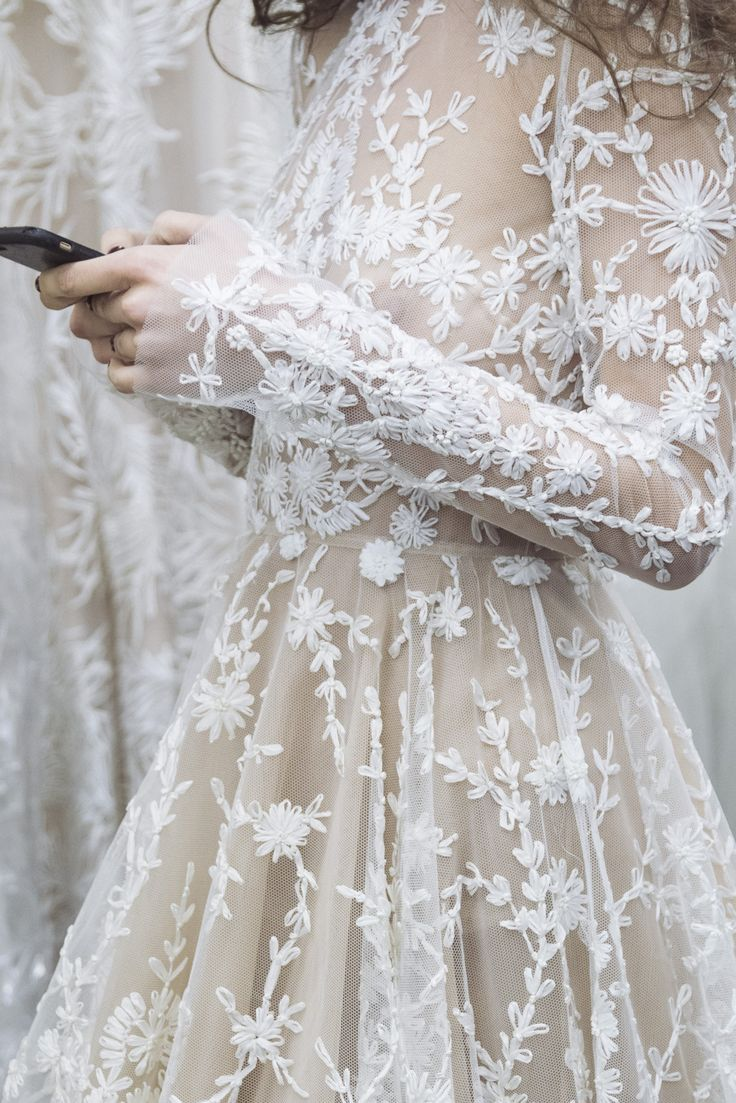 Backstage /NY Bridal Week Fall 2017 / Photo: The LANE