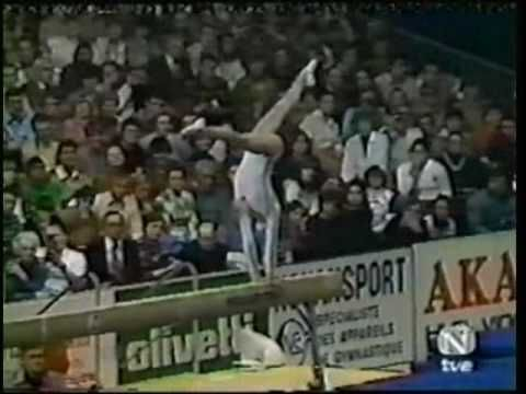Nadia Comaneci - 1976 Gymnastics All Seven Perfect 10's HQ - YouTube