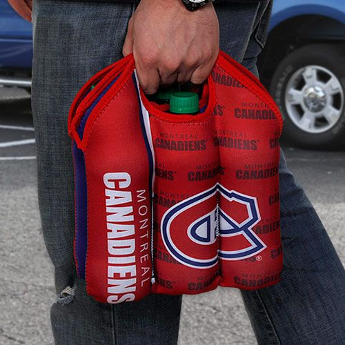 """Montreal Canadiens """"The Habs"""" 6 Bottle Tote"""