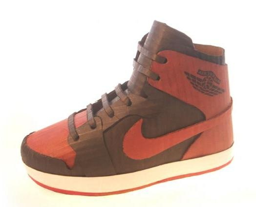 Michael Leavitt Collection | Cardboard Sneaker Art