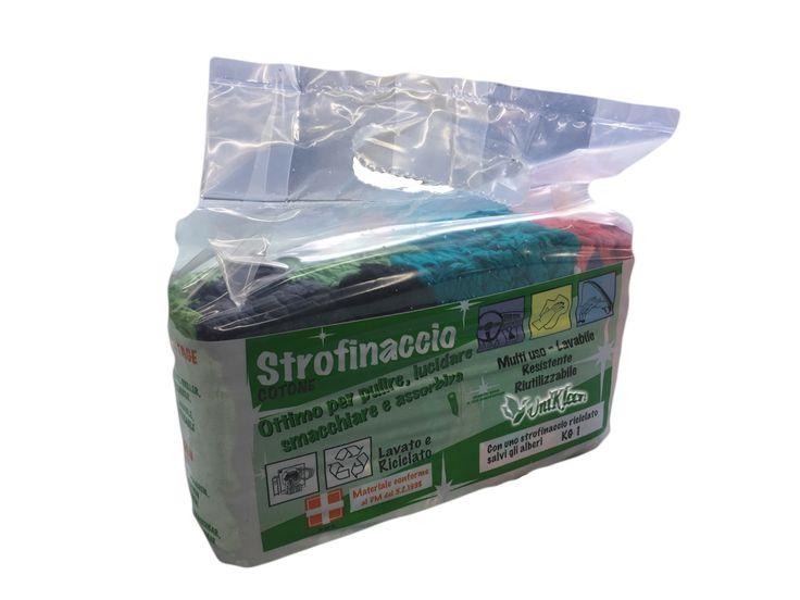 Strofinaccio Πανιά χρωματιστά τούβλο 1κιλού €3.80