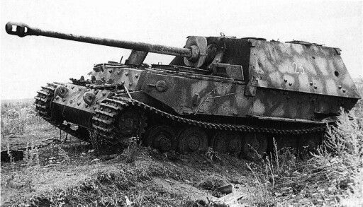 Destroyed and abandoned ferdinand elephant tank destroyers for How many german tanks were destroyed in ww2