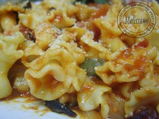 How to use up that bag of Gigli pasta . . .