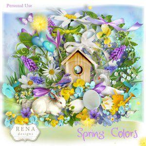 Spring Colors by Rena Designs