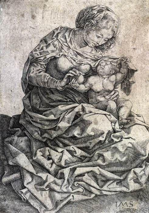 Παναγία βρεφοκρατούσα (1522)