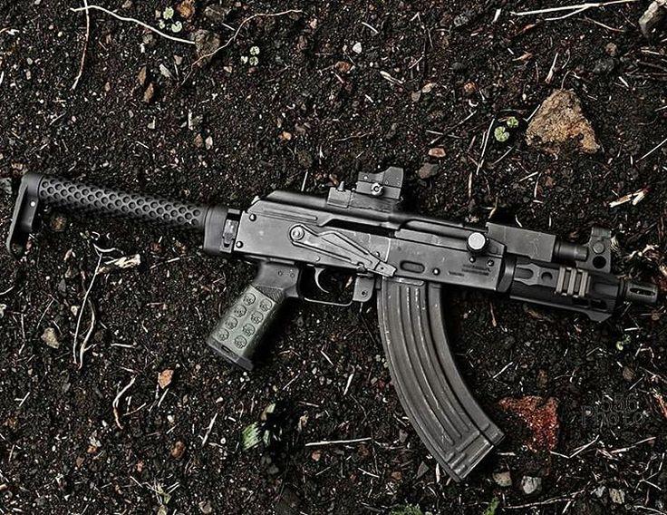 "Battle Arms Development, Inc. on Instagram: ""SABERTUBE (tm) sighting on a Micro Draco. Looking good! @Regrann from @5.56_photography - Micro draco #firearms #nfalifebitch #shortbarreledrifle #ak47 #slrrifleworks #firearms #gunporn #tuff1grips #battlearms #Regrann"""