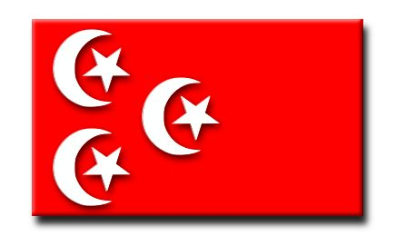 Flag of the Sultanate of Egypt - 1882.