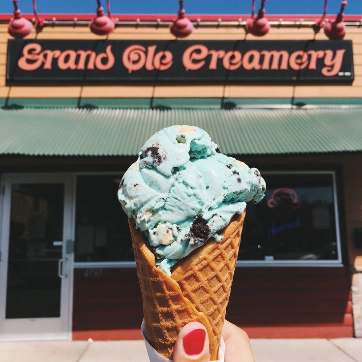 A scoop of ice cream at Grand Ole Creamery in Minneapolis OnlyinMN  Ten Day Minnesotans