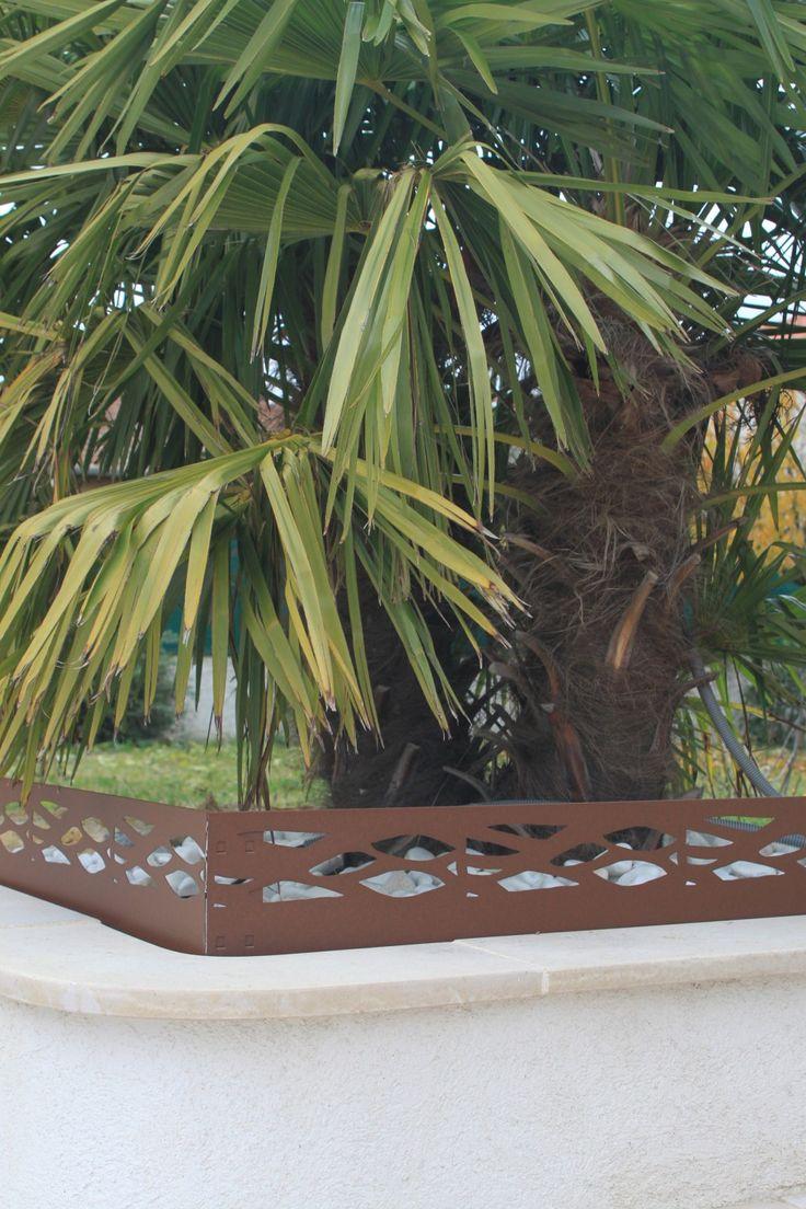 Les 113 Meilleures Images Du Tableau Deco Jardin Sur Pinterest  # Bordure De Jardin En Acier Fer Vieilli