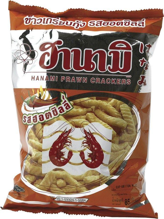 #Hanami Mexicaanse Chili #Kroepoek is een heerlijke knabbel uit Thailand.
